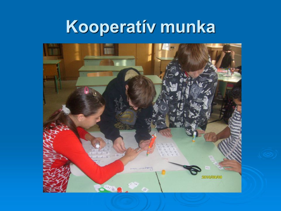 Kooperatív munka