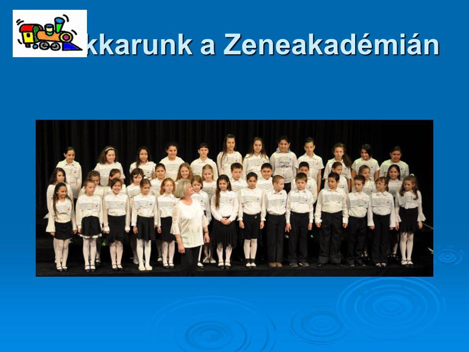 Énekkarunk a Zeneakadémián
