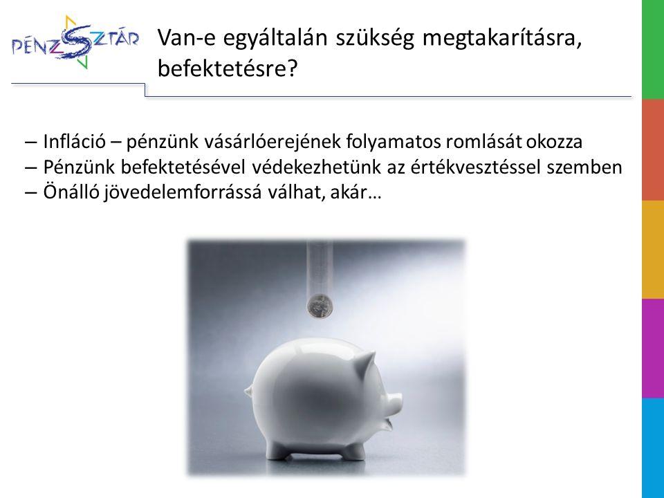 Van-e egyáltalán szükség megtakarításra, befektetésre