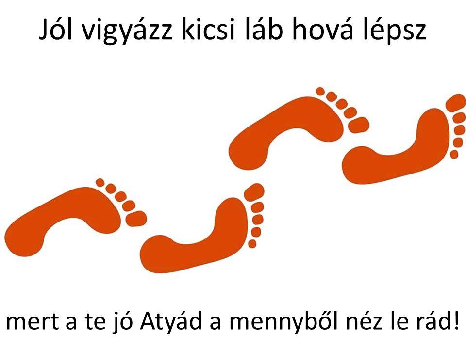 Jól vigyázz kicsi láb hová lépsz