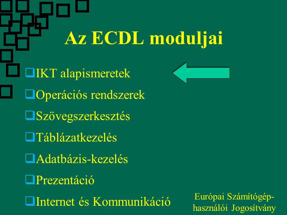 Európai Számítógép-használói Jogosítvány