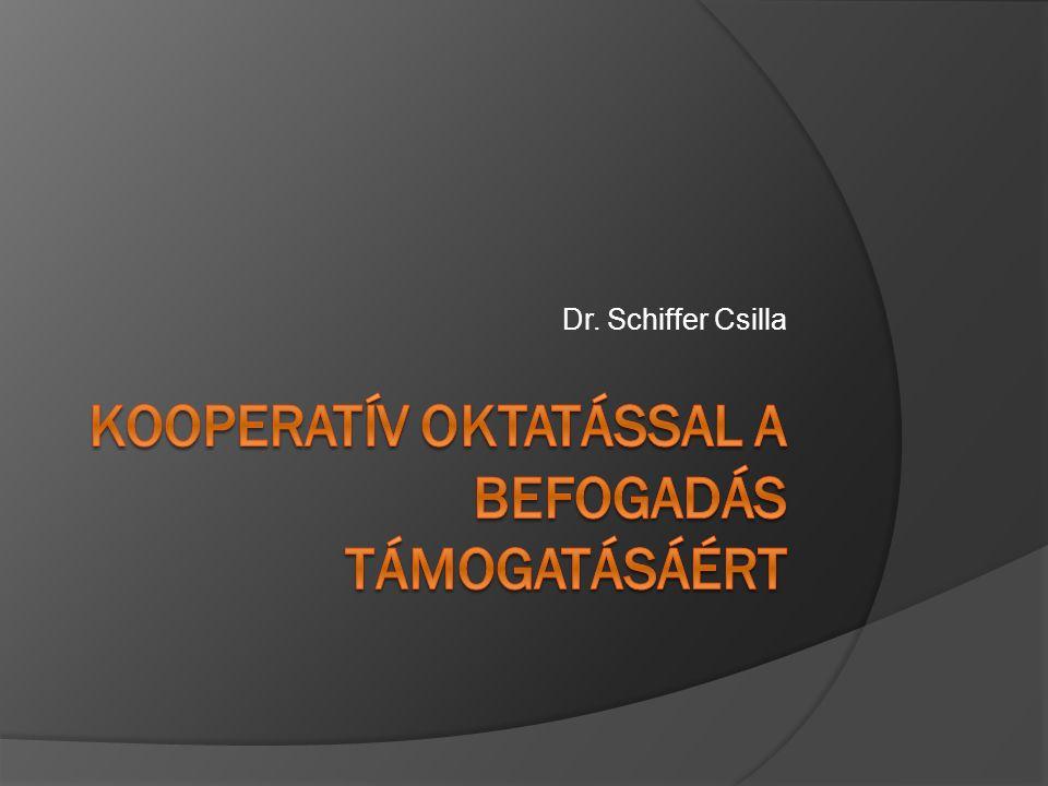 Kooperatív oktatással a befogadás támogatásáért