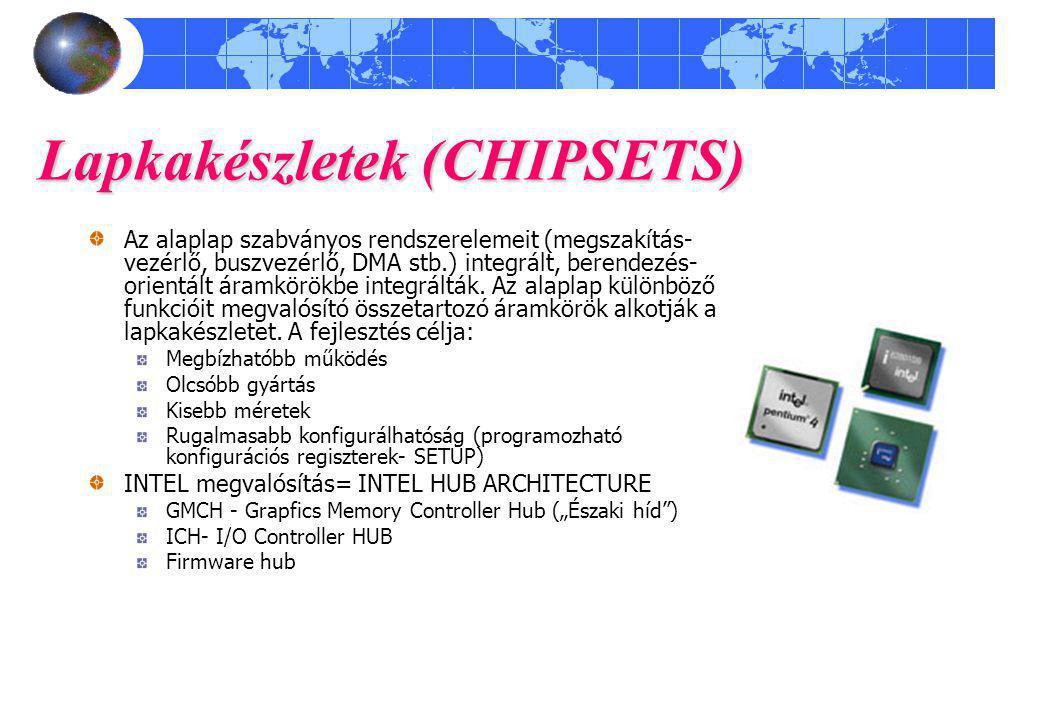 Lapkakészletek (CHIPSETS)