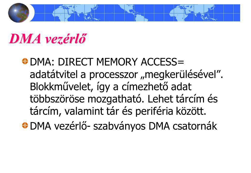 DMA vezérlő