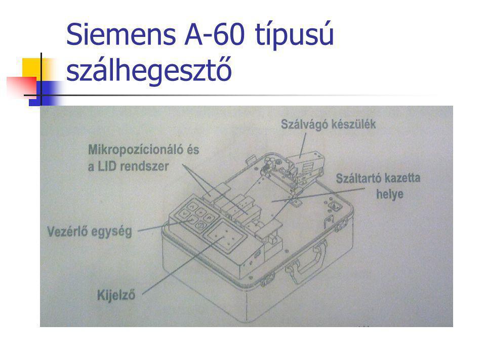 Siemens A-60 típusú szálhegesztő