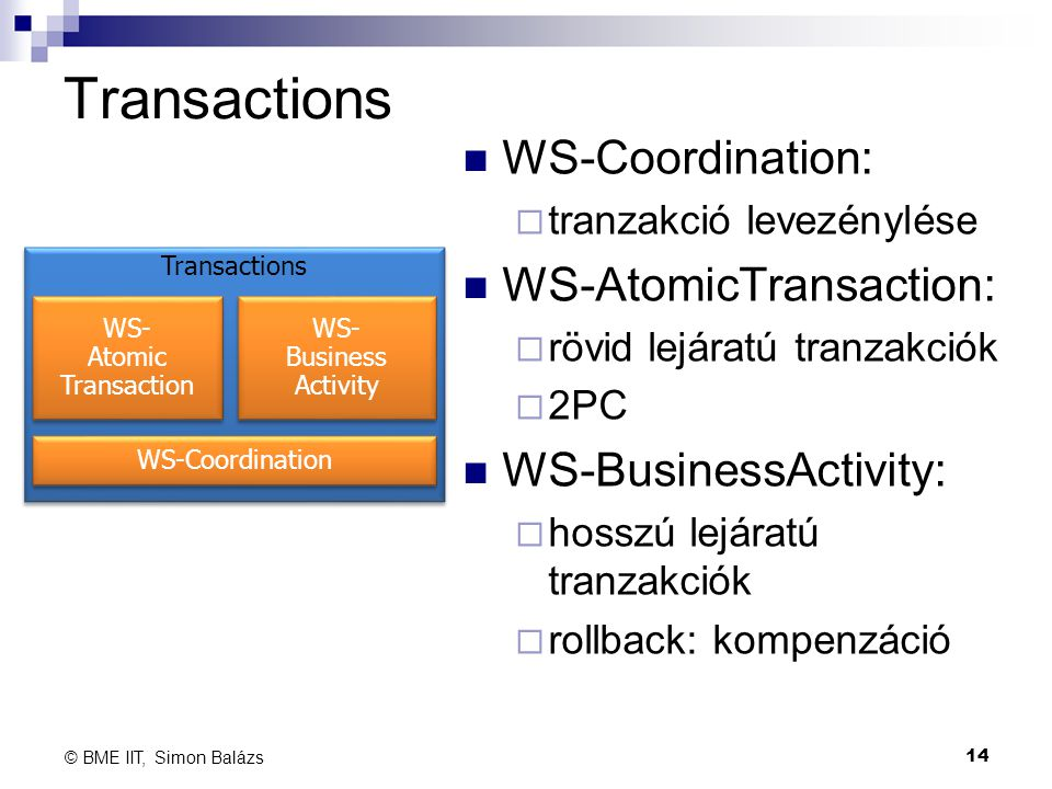 WS- Atomic Transaction