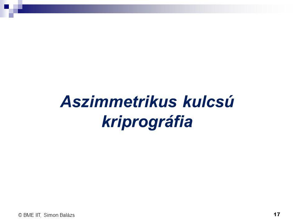 Aszimmetrikus kulcsú kriprográfia
