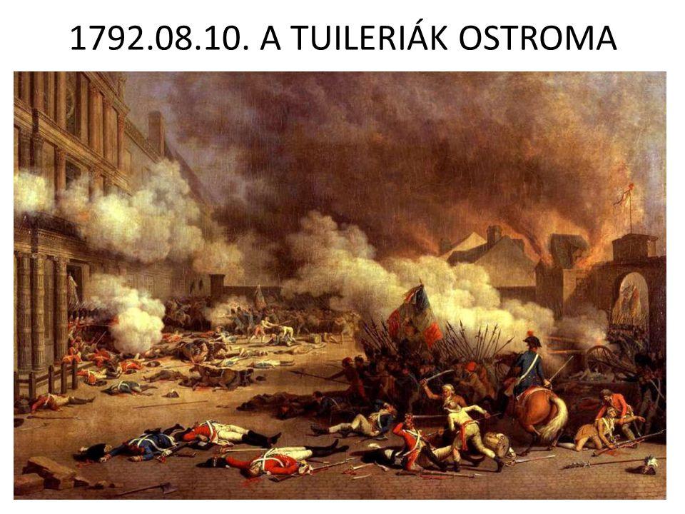 1792.08.10. A TUILERIÁK OSTROMA
