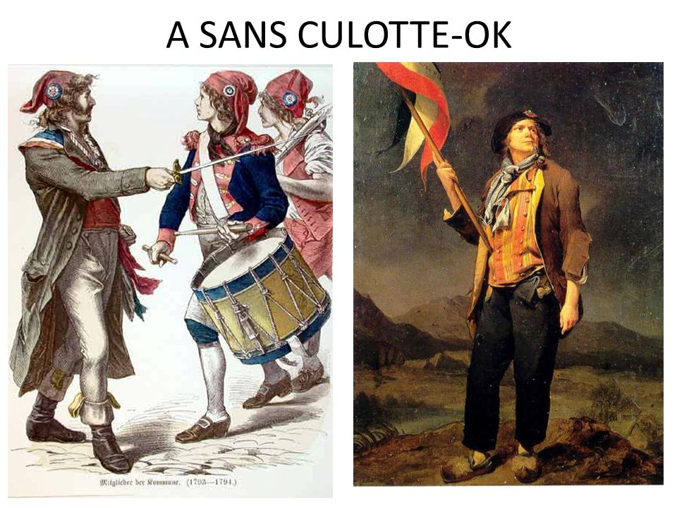 A SANS CULOTTE-OK