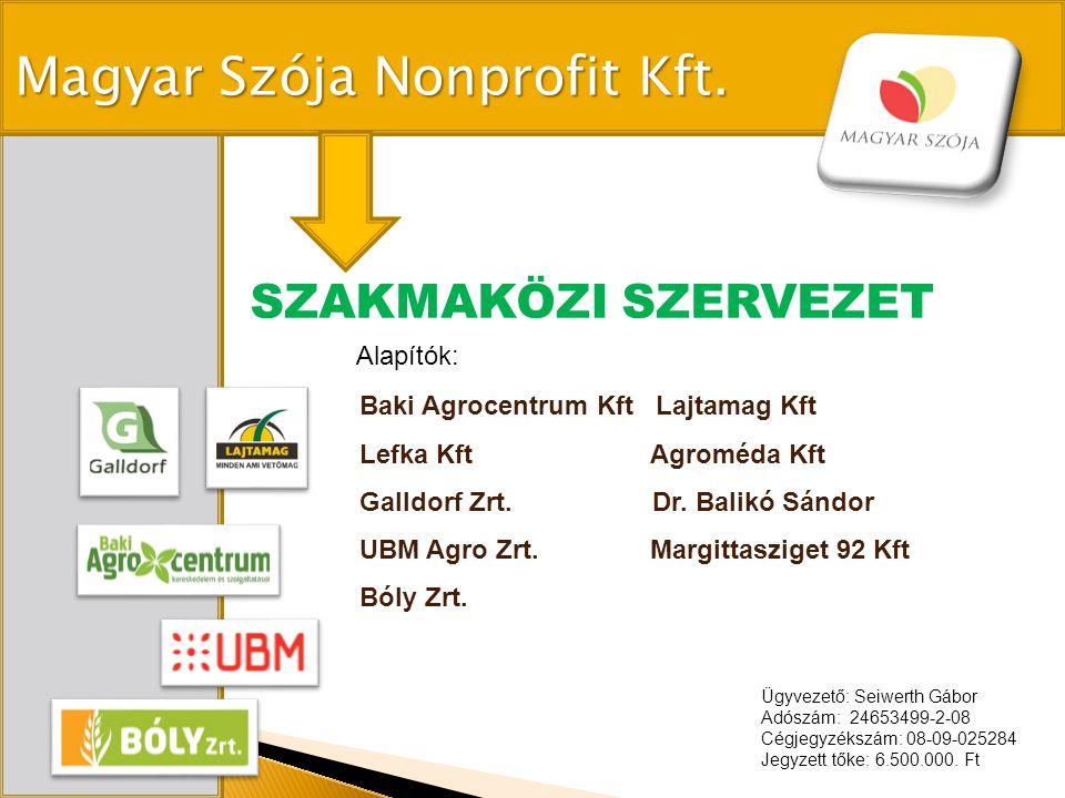 Magyar Szója Nonprofit Kft.