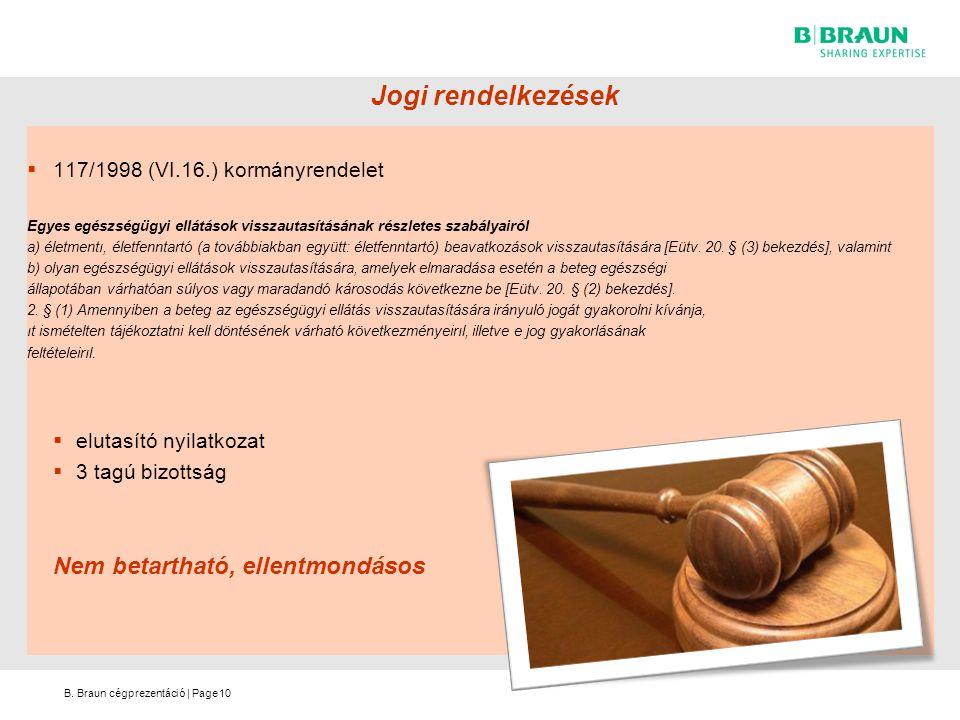 Jogi rendelkezések Nem betartható, ellentmondásos