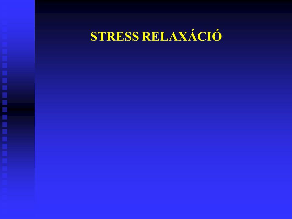 STRESS RELAXÁCIÓ