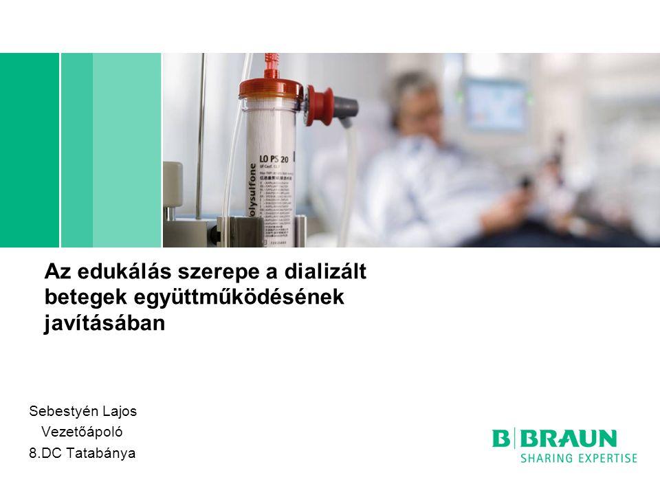 Az edukálás szerepe a dializált betegek együttműködésének javításában