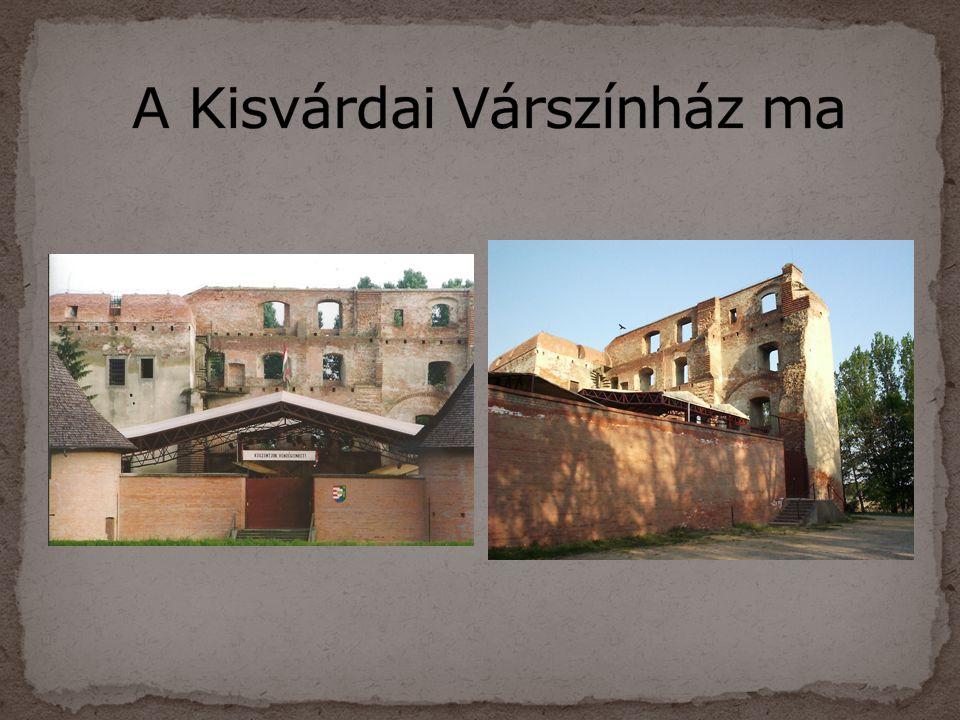 A Kisvárdai Várszínház ma