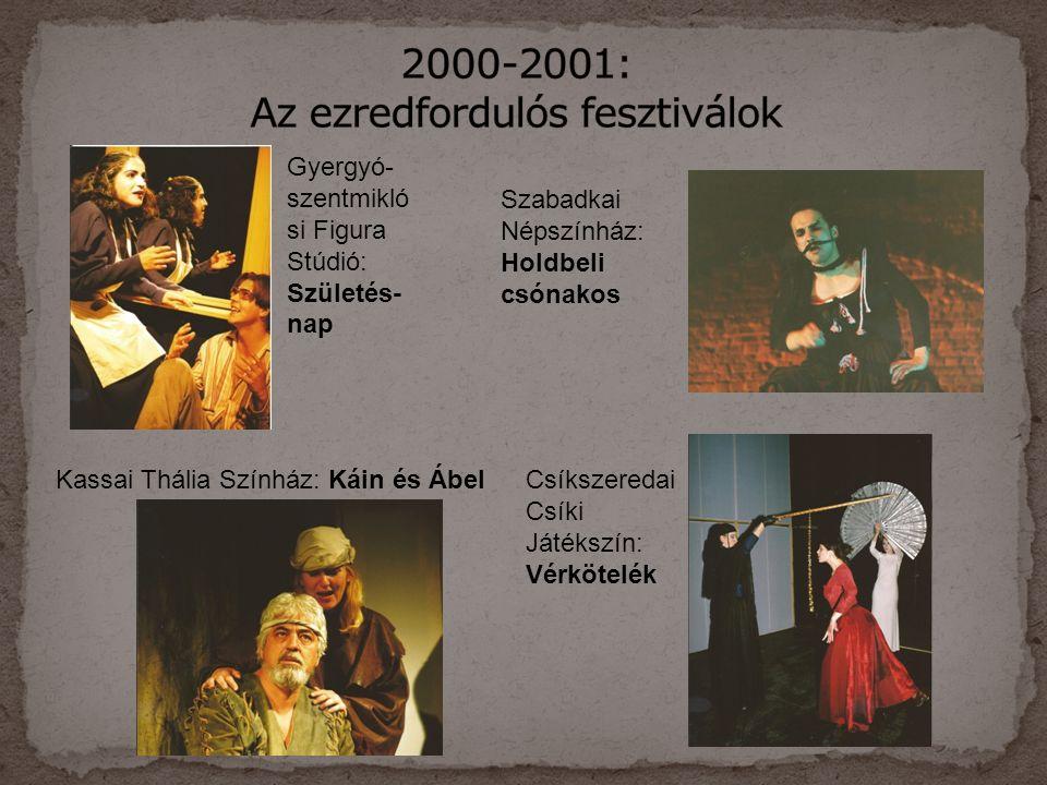 2000-2001: Az ezredfordulós fesztiválok