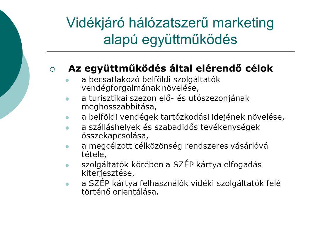 Vidékjáró hálózatszerű marketing alapú együttműködés