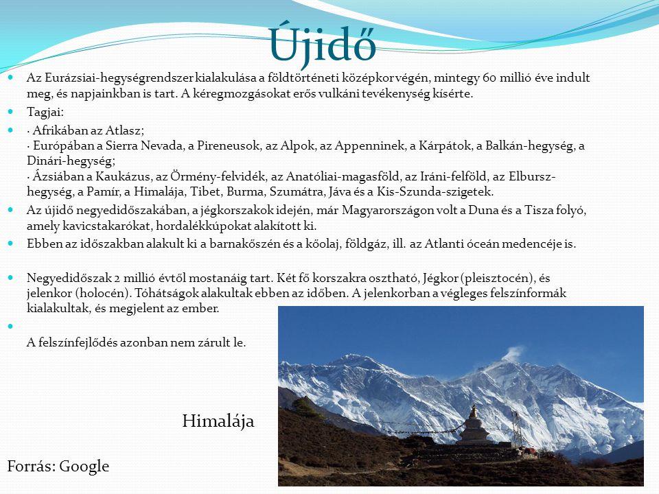 Újidő Himalája Forrás: Google