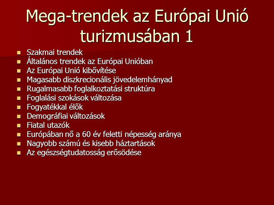 Mega-trendek az Európai Unió turizmusában 1