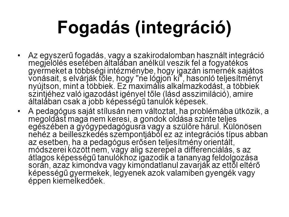 Fogadás (integráció)