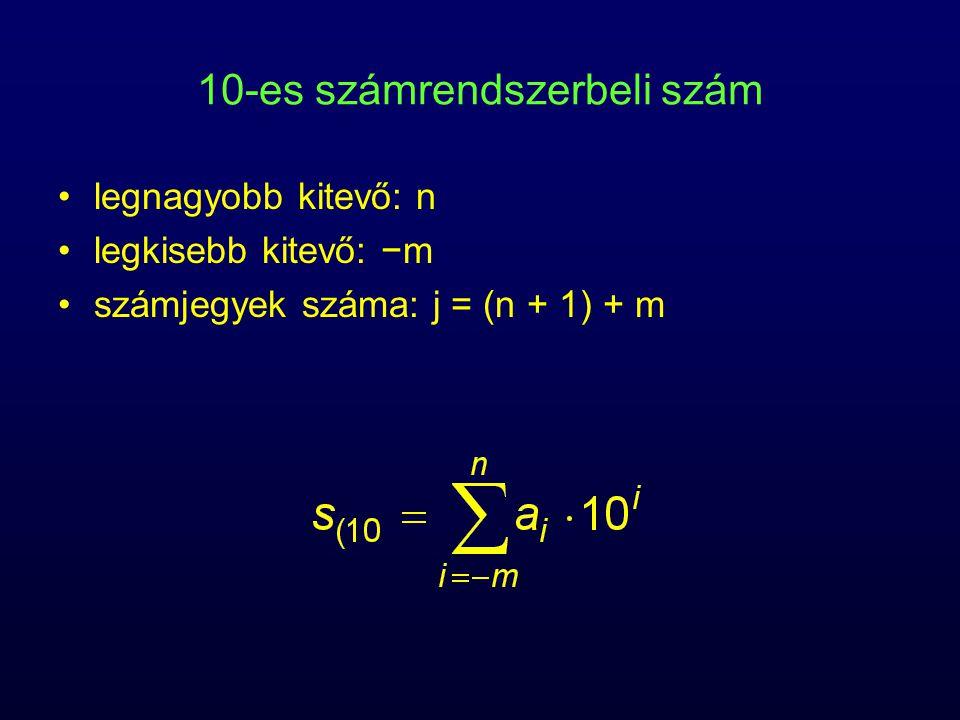 10-es számrendszerbeli szám