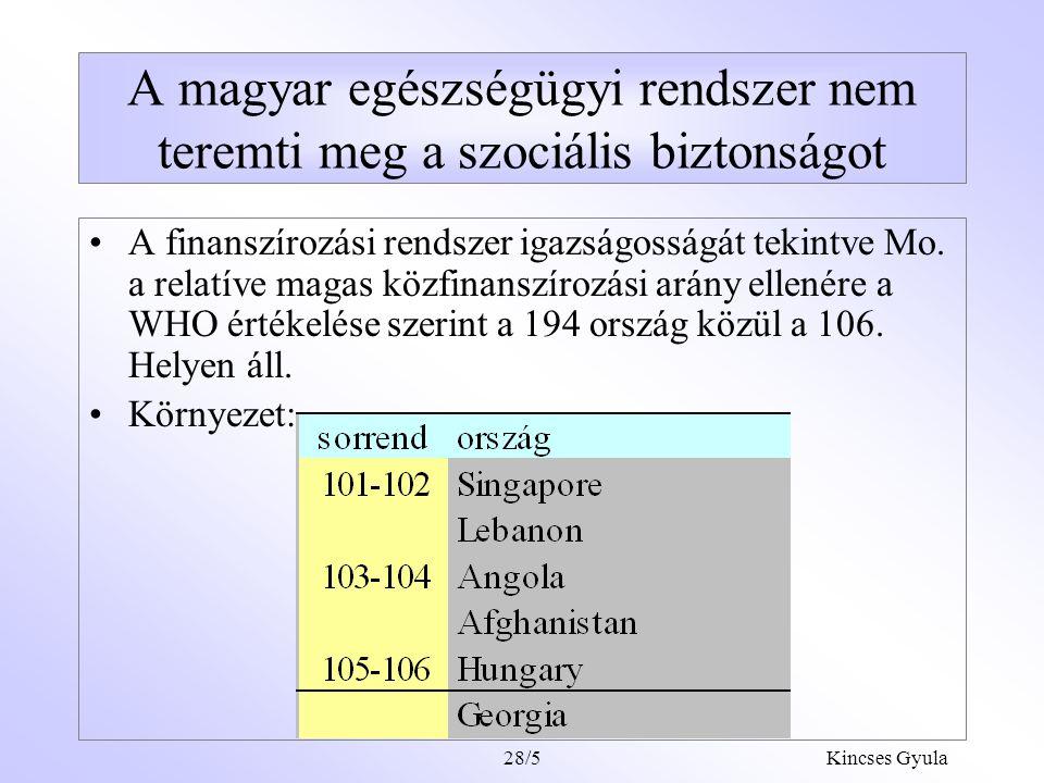 A magyar egészségügyi rendszer nem teremti meg a szociális biztonságot