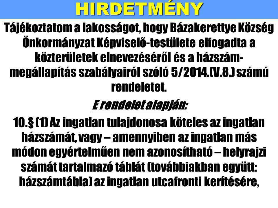 HIRDETMÉNY