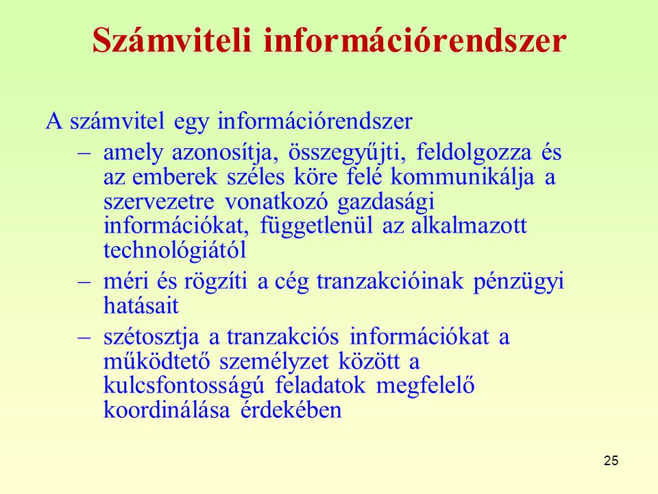 Számviteli információrendszer