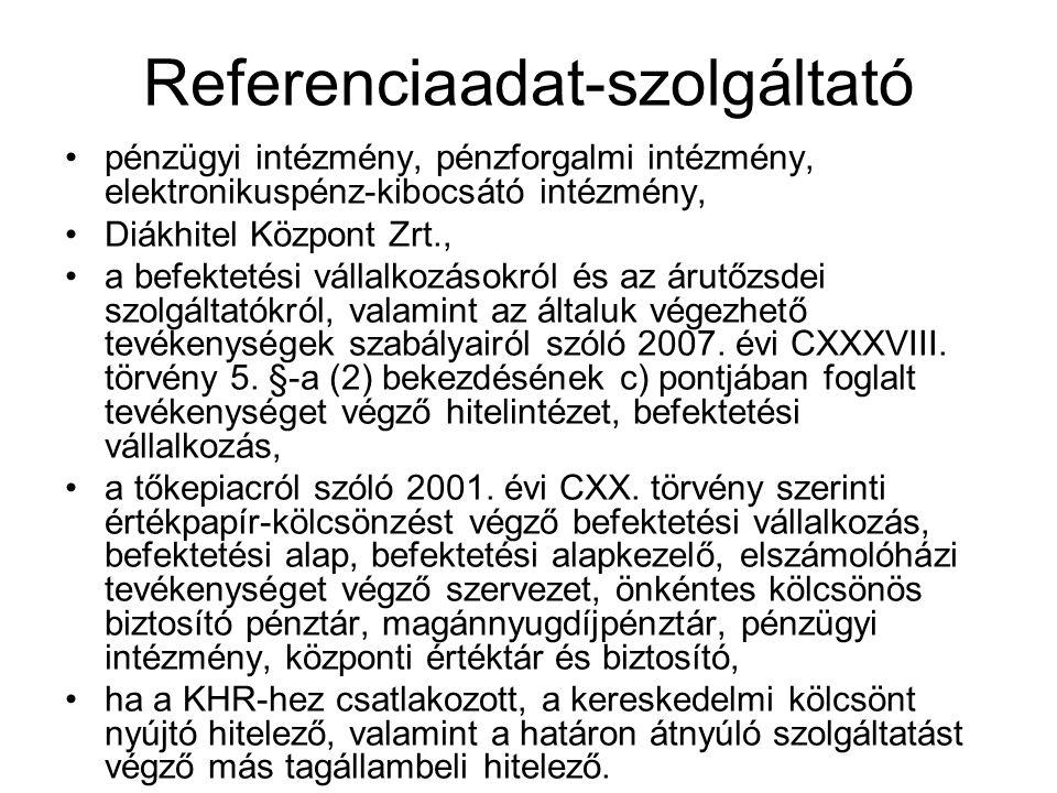 Referenciaadat-szolgáltató
