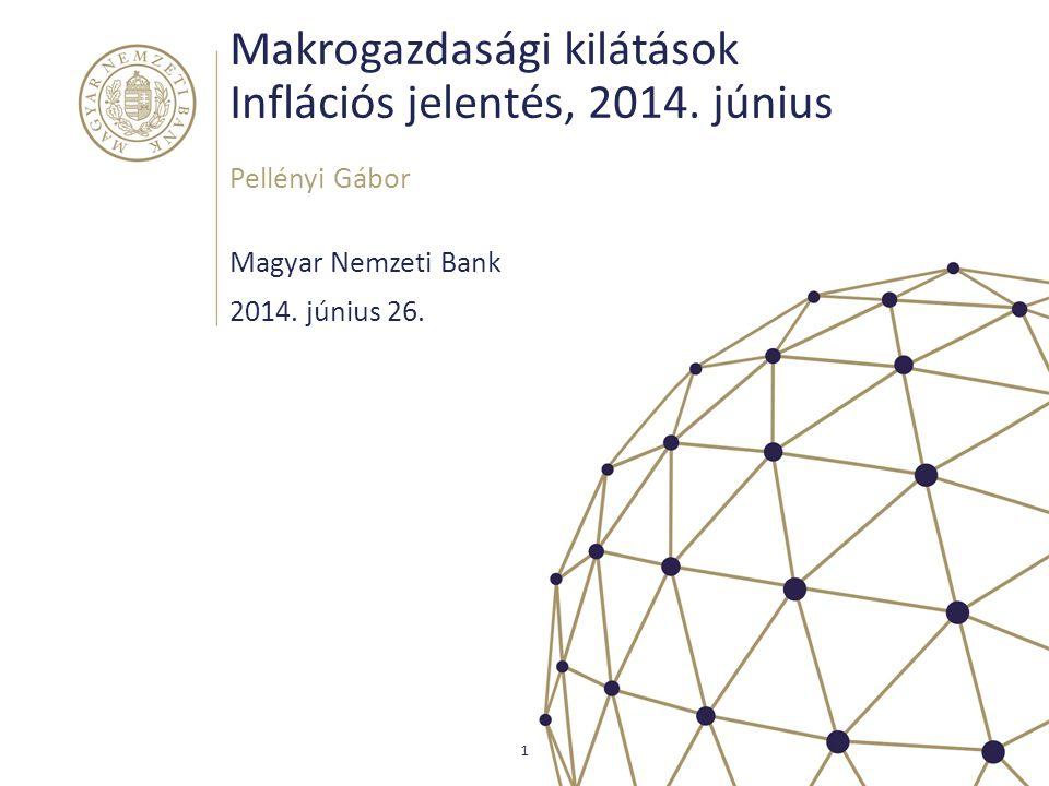 Makrogazdasági kilátások Inflációs jelentés, 2014. június