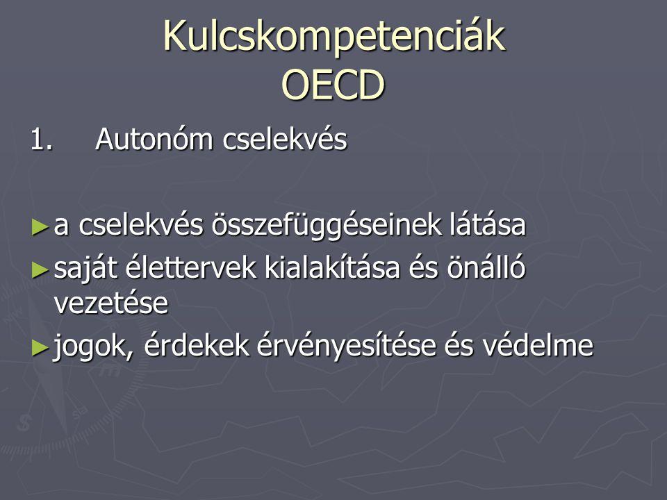 Kulcskompetenciák OECD