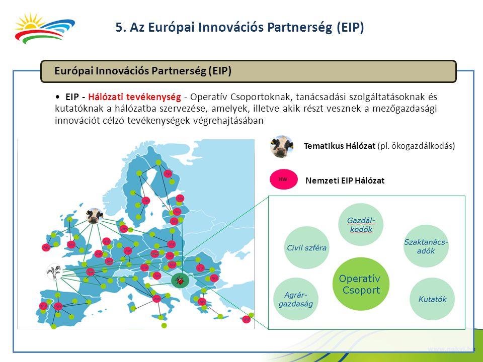 5. Az Európai Innovációs Partnerség (EIP)