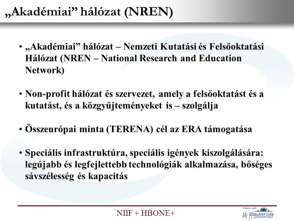 """""""Akadémiai hálózat (NREN)"""