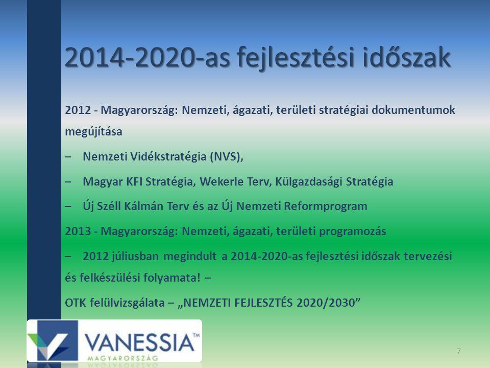 2014-2020-as fejlesztési időszak