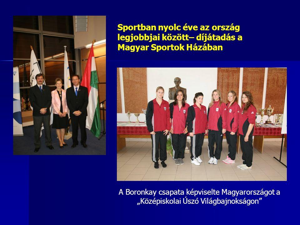 Sportban nyolc éve az ország legjobbjai között– díjátadás a Magyar Sportok Házában
