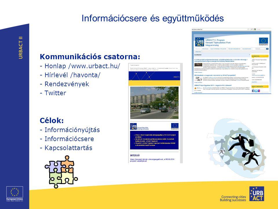 Információcsere és együttműködés