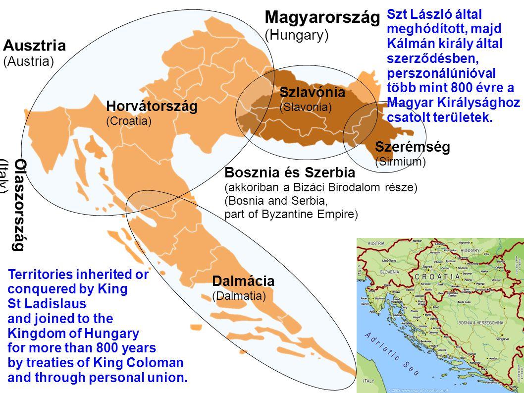 Magyarország Ausztria Olaszország (Hungary) Szlavónia Horvátország