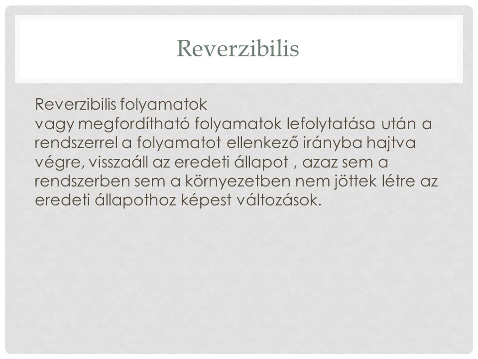 Reverzibilis