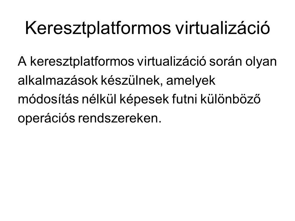 Keresztplatformos virtualizáció