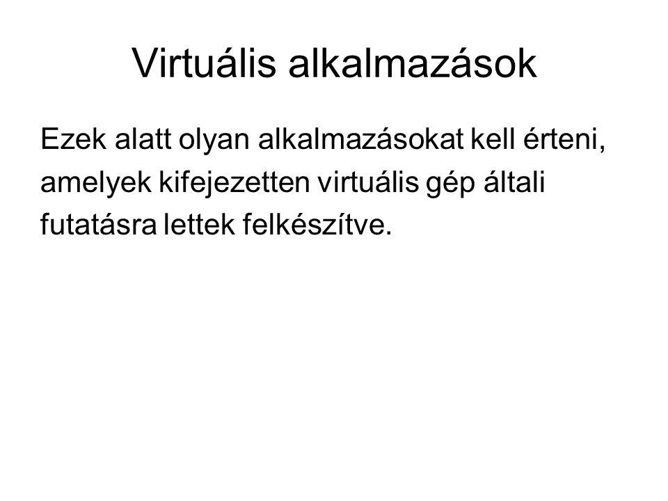 Virtuális alkalmazások