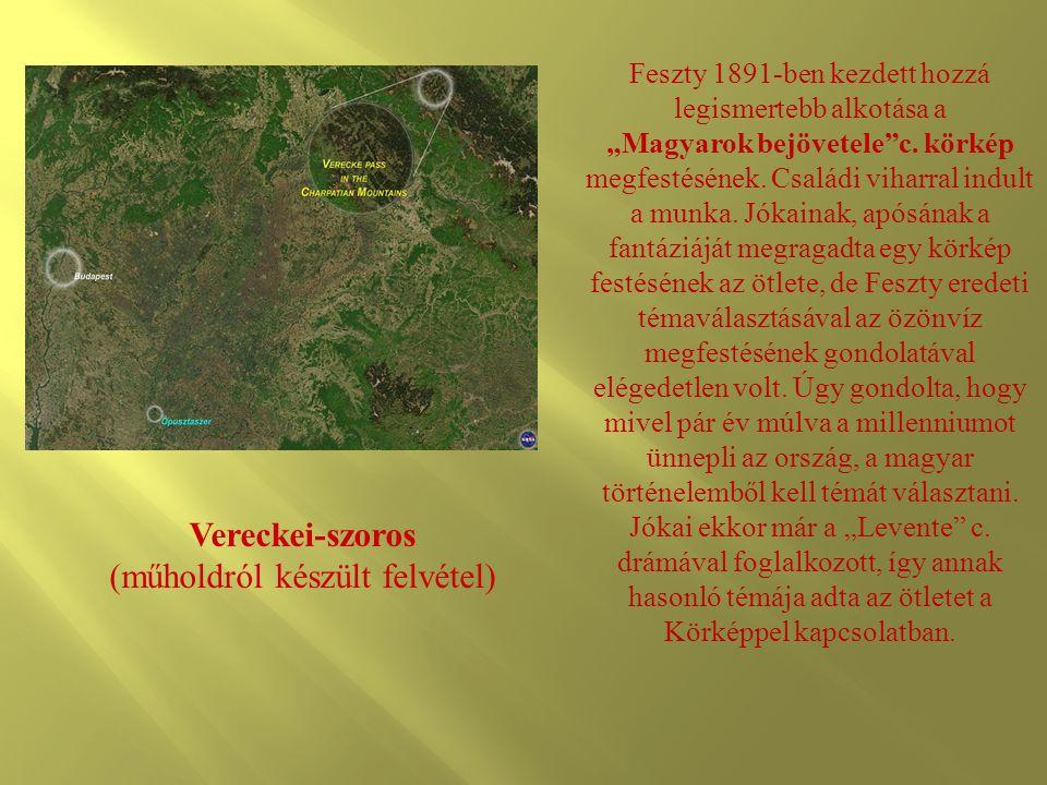 Vereckei-szoros (műholdról készült felvétel)