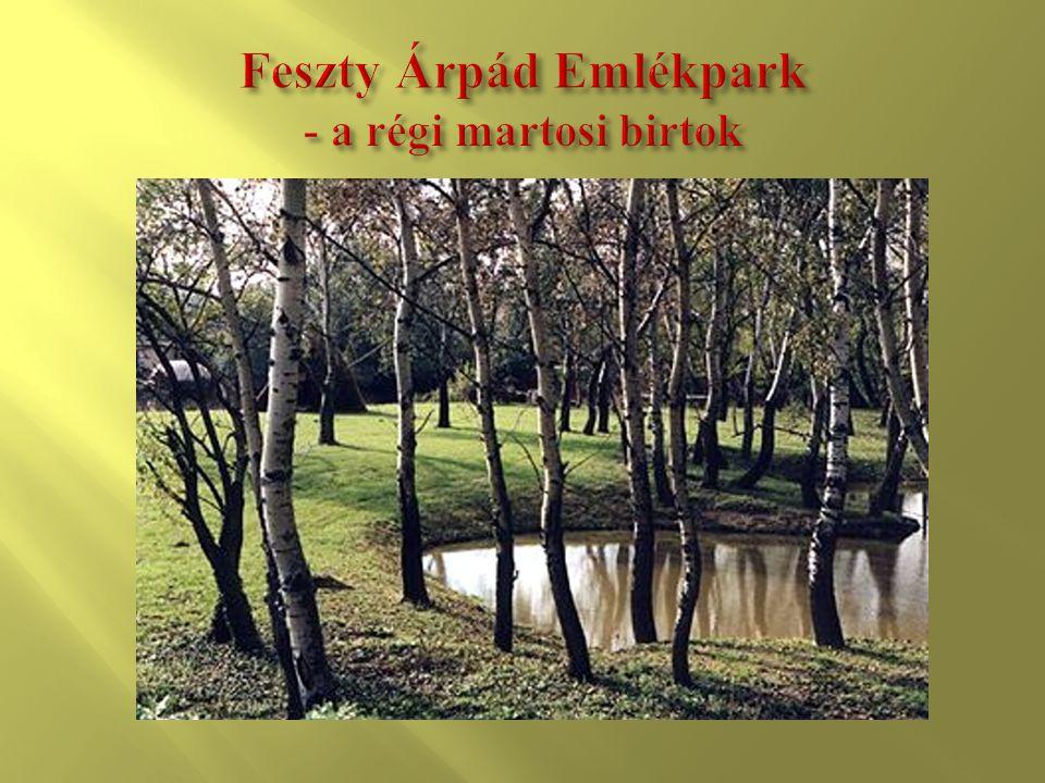 Feszty Árpád Emlékpark - a régi martosi birtok