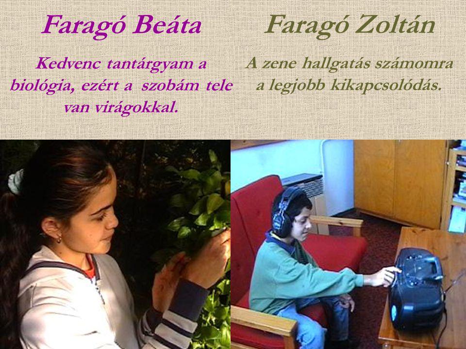 Faragó Beáta Faragó Zoltán