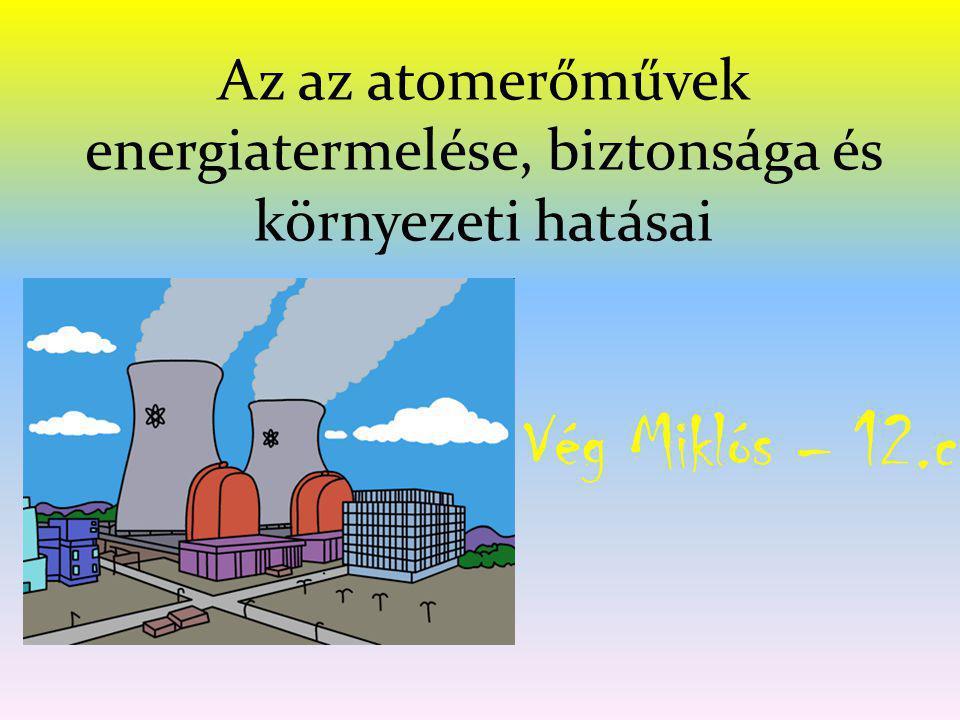 Az az atomerőművek energiatermelése, biztonsága és környezeti hatásai