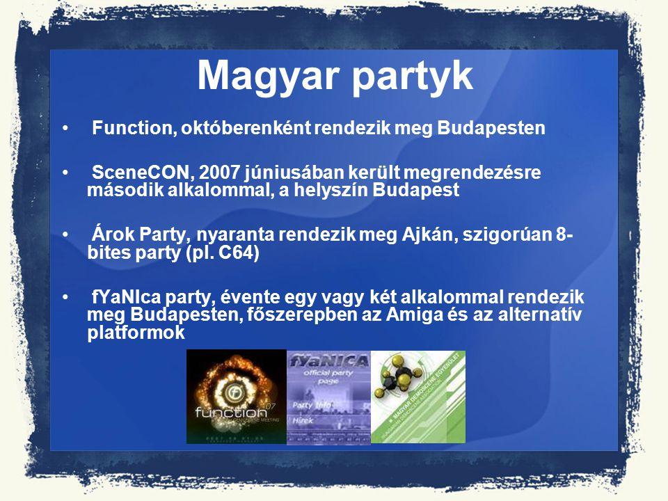 Magyar partyk Function, októberenként rendezik meg Budapesten