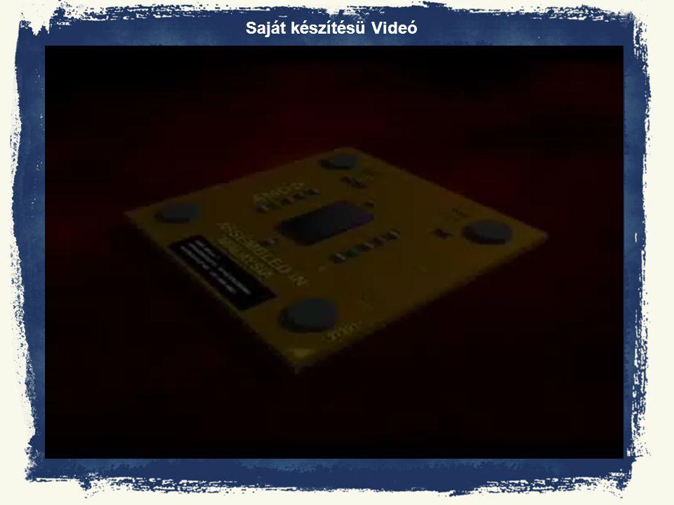 Saját készítésü Videó