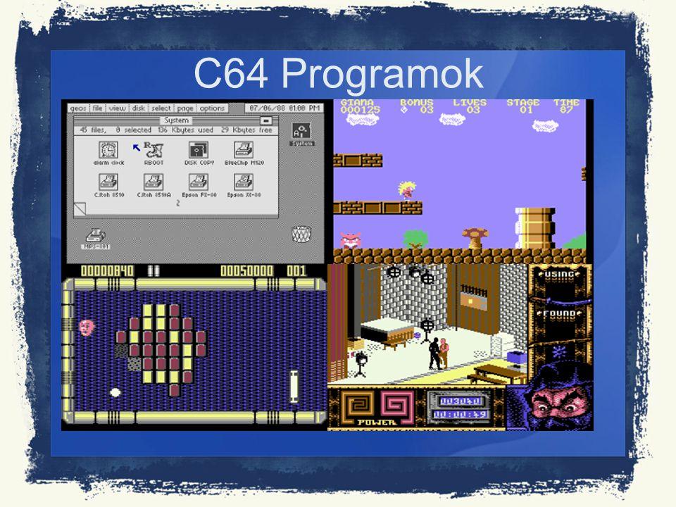 C64 Programok