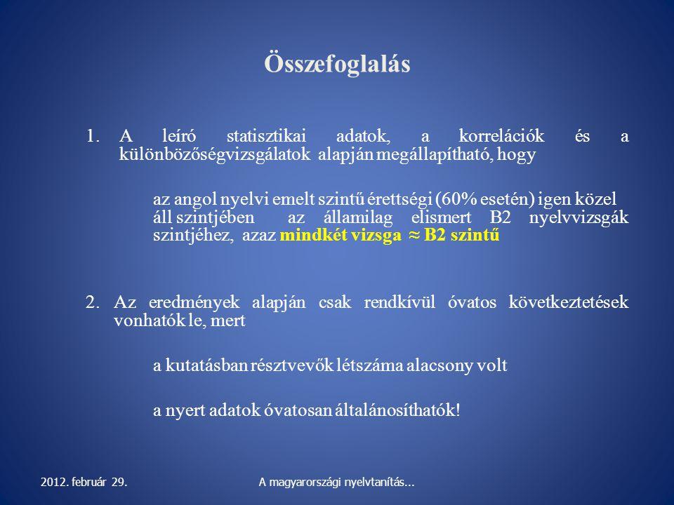 A magyarországi nyelvtanítás...