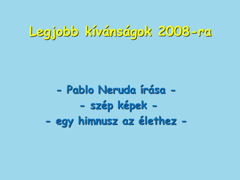 Legjobb kívánságok 2008-ra