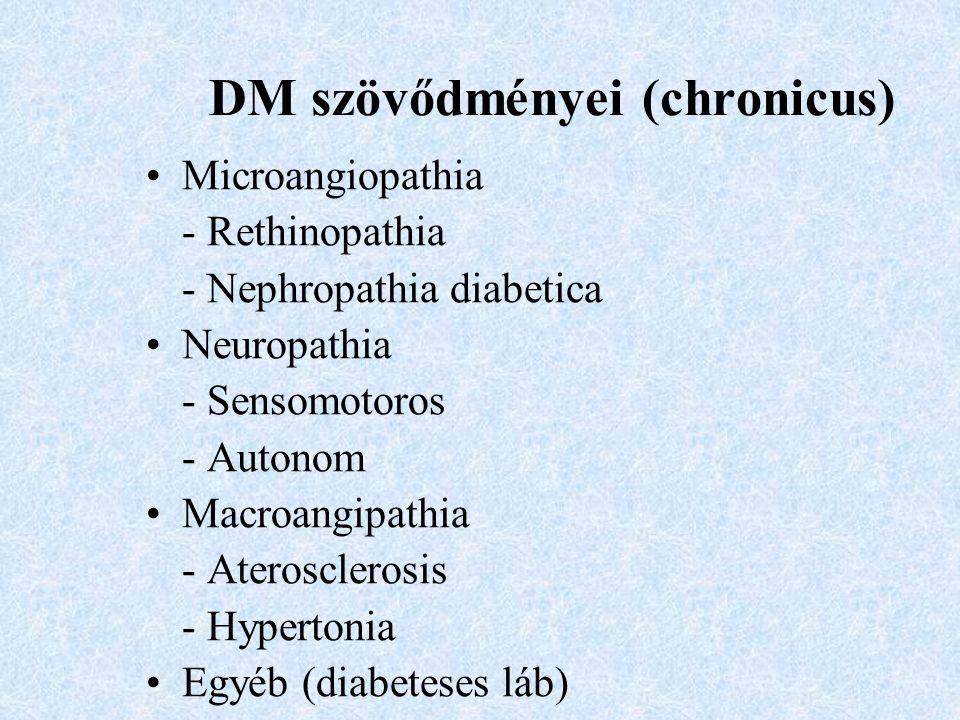 DM szövődményei (chronicus)