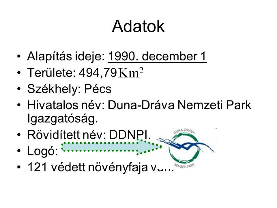 Adatok Alapítás ideje: 1990. december 1 Területe: 494,79